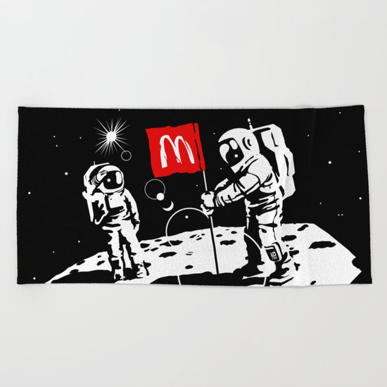 First we take Manhattan, Then we take Moon Beach Towel