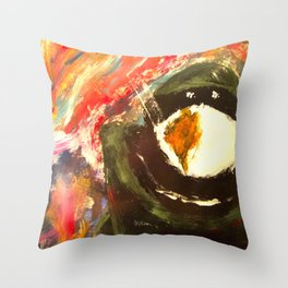 Bomb Suit Visions Throw Pillow