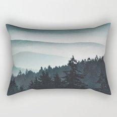 Mountain Light Rectangular Pillow
