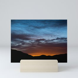 Mountain Sunrise Mini Art Print