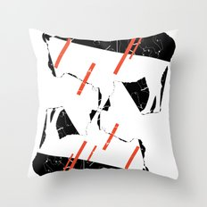 Buffalo Tandem Radar Throw Pillow