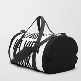 LIVIN' LA VIDA BROKA Duffle Bag