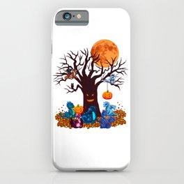 HALLOWEEN DRAGON PARTY (PAINTING) iPhone Case