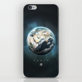 A Portrait of the Solar System: Earth iPhone Skin