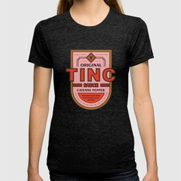 TINC SAUCE with Cayenne Pepper T-shirt