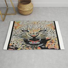 Big Cat Models: Mad Leopards 01-04 Rug