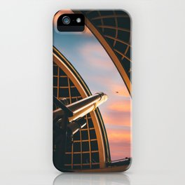 Telescope at Griffith Observatory iPhone Case
