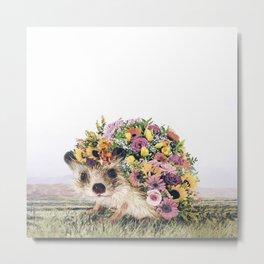 Walking Bouquet Metal Print