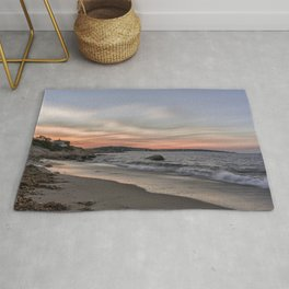 Sunset Sky at Old Garden Beach Rug