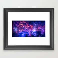 The center of the Universe (The Galactic Center Region ) Framed Art Print