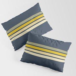 Racing Retro Stripes Pillow Sham