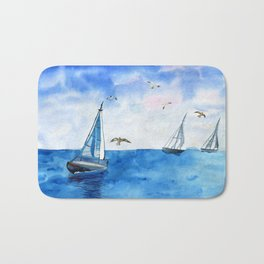 Boat trip on the yacht Bath Mat