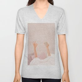 Morning Coffee II Unisex V-Neck