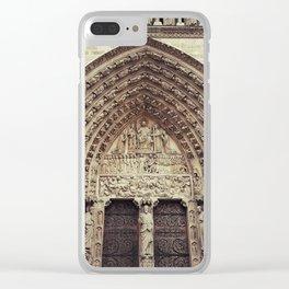 Notre-Dame de Paris Clear iPhone Case