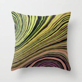 Mineralicious~Colors of Quartz Throw Pillow