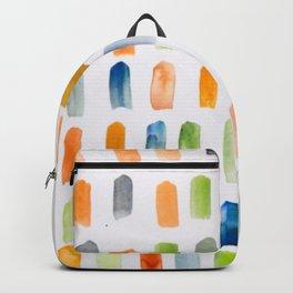 Watercolor Brush Strokes Backpack