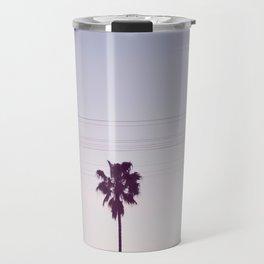 Los Angeles Sunset + Palm Tree Silhouettes Travel Mug