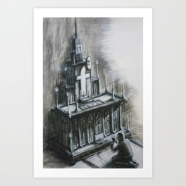 Like Me! - Part 1 Art Print