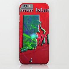 Rhode Island Map Slim Case iPhone 6s