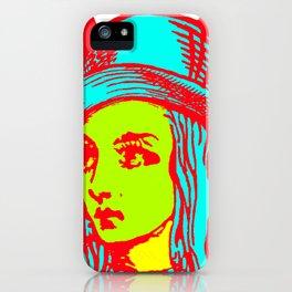 Alice Sunburst iPhone Case
