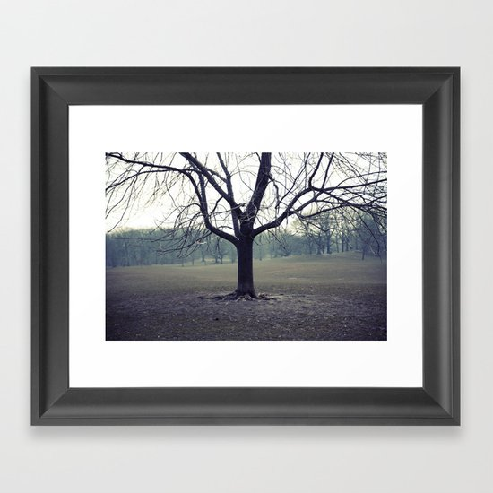 parktree Framed Art Print