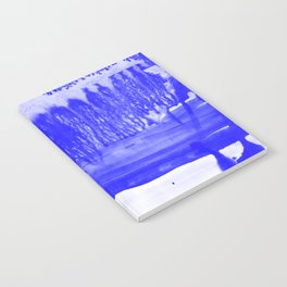 Dip Dye Ultramarine Notebook