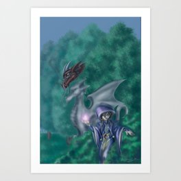 Hide and Seek Art Print