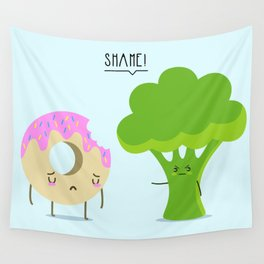 Guilty pleasure shame Wall Tapestry