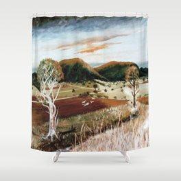 Cunningham's Gap, NSW, AUSTRALIA Shower Curtain