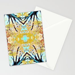 Tree Mosiac Stationery Cards