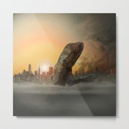 The Destruction of San Fran Metal Print