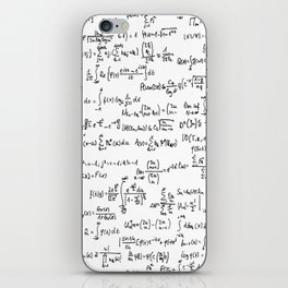 Math Equations iPhone Skin