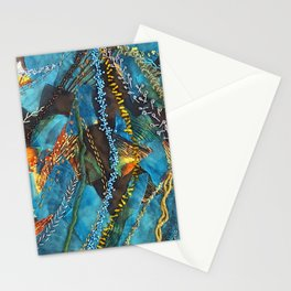 Traces of thought Stationery Cards