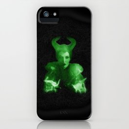 Maleficent's Evil Spell / Sleeping Beauty iPhone Case