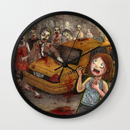 The Return of Zombies Wall Clock