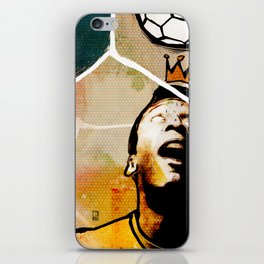 The New York Cosmos' Pelé (King of Soccer) iPhone Skin