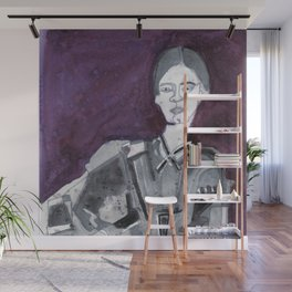 Emily Dickinson Wall Mural