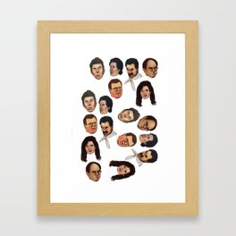 Jerry and Friends Framed Art Print