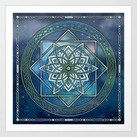 celtic Art Prints featuring Celtic Dream by MSheehan