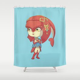 Vah Ruta Pilot Shower Curtain