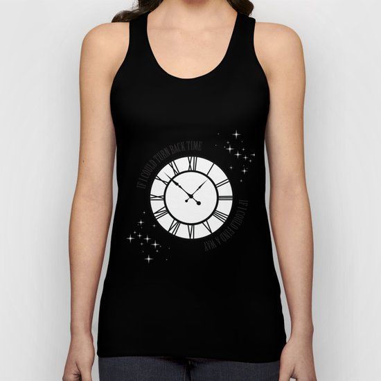 If I Could Turn Back Time... Unisex Tank Top