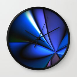 Pretty Smooth (Cool Tones) Wall Clock