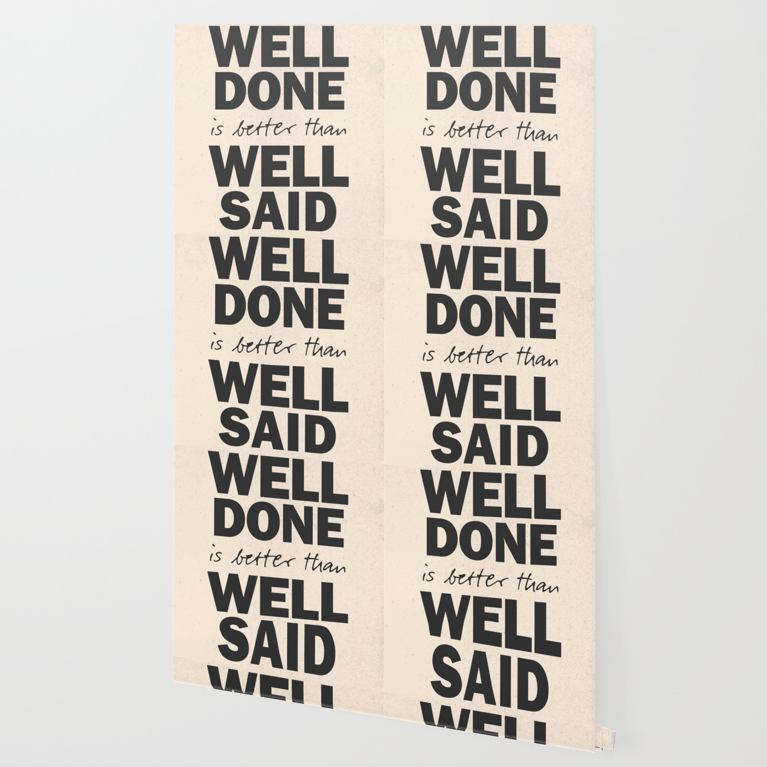 Well Done Is Better Than Well Said Benjamin Franklin Inspirational Quote For Motivation Work Hard Wallpaper