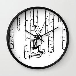 Forest bathing Wall Clock