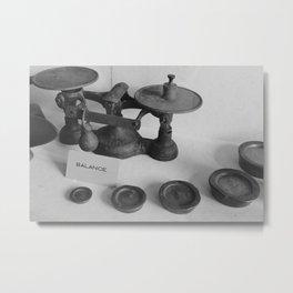 Balance Metal Print