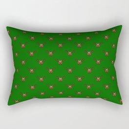 Avocado Moose Rectangular Pillow
