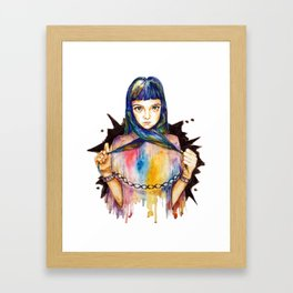 Chained Framed Art Print