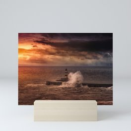 Poseidons Wrath Mini Art Print