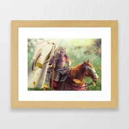 Shinjo Tselu Framed Art Print