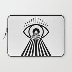 Laser Eye Laptop Sleeve